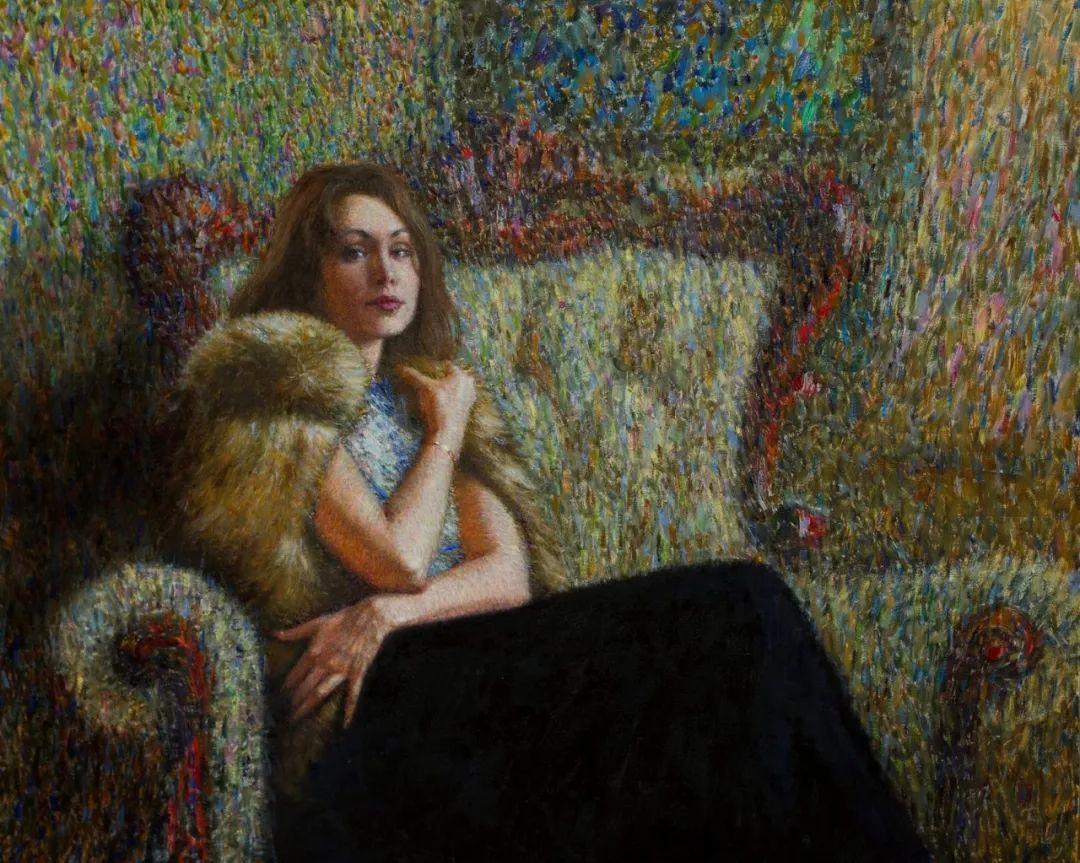 点彩与印象,乌克兰画家罗曼·康斯坦丁诺夫插图87
