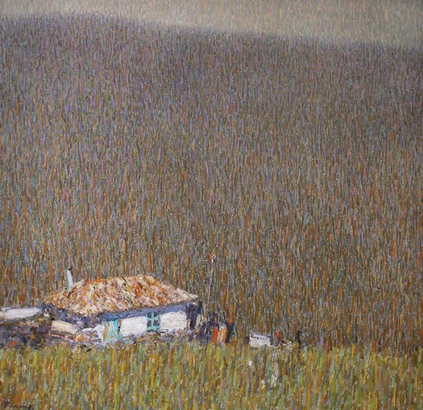 点彩与印象,乌克兰画家罗曼·康斯坦丁诺夫插图27