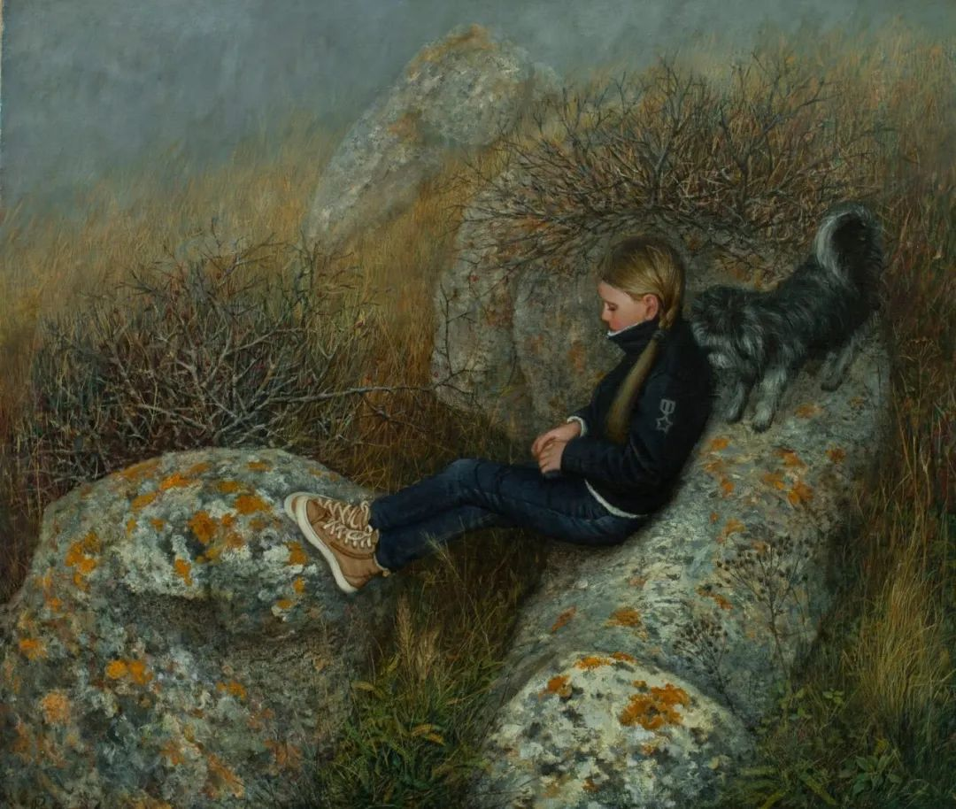 点彩与印象,乌克兰画家罗曼·康斯坦丁诺夫插图85