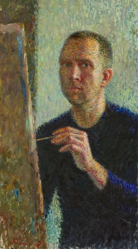 点彩与印象,乌克兰画家罗曼·康斯坦丁诺夫插图13