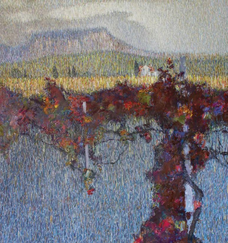 点彩与印象,乌克兰画家罗曼·康斯坦丁诺夫插图25