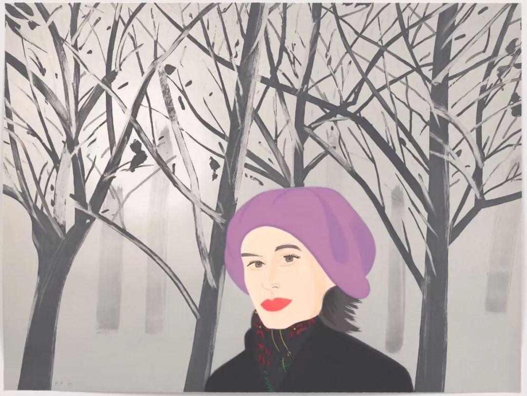 美国当代画家 | 亚历克斯·卡茨 (Alex Katz)插图37