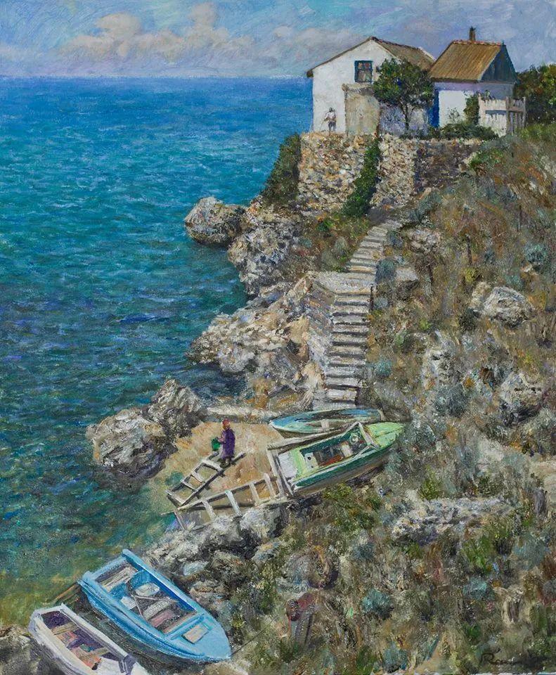 点彩与印象,乌克兰画家罗曼·康斯坦丁诺夫插图41