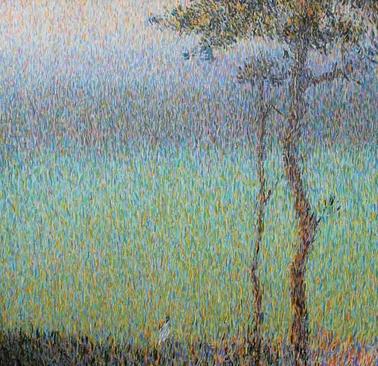 点彩与印象,乌克兰画家罗曼·康斯坦丁诺夫插图29