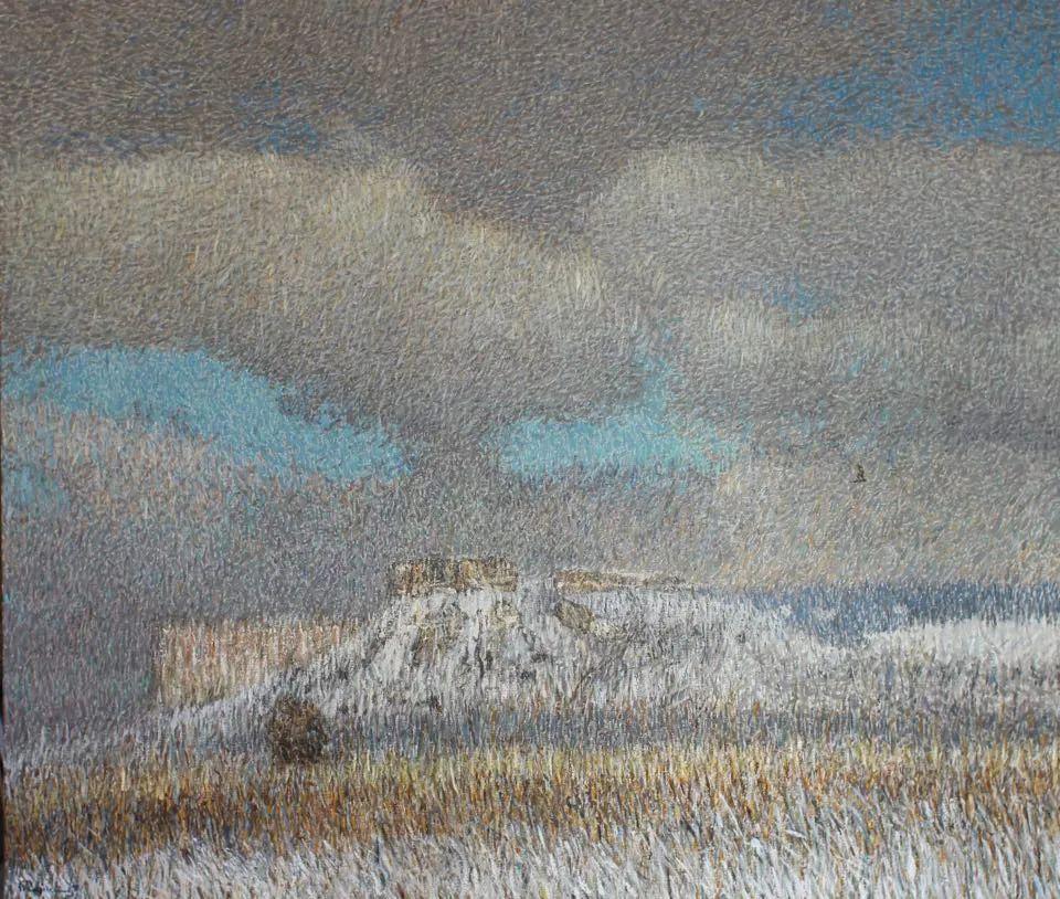 点彩与印象,乌克兰画家罗曼·康斯坦丁诺夫插图33