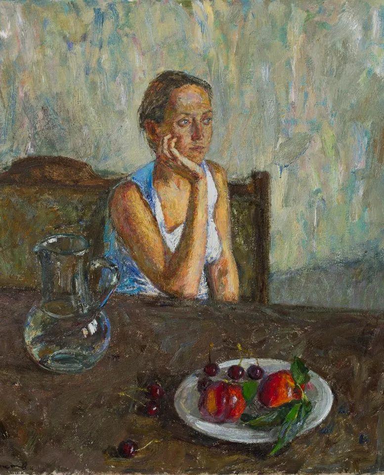 点彩与印象,乌克兰画家罗曼·康斯坦丁诺夫插图81