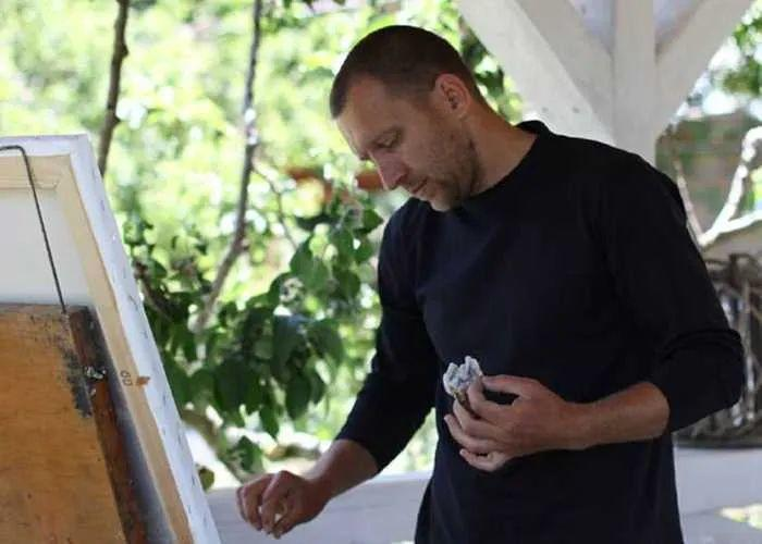 点彩与印象,乌克兰画家罗曼·康斯坦丁诺夫插图11