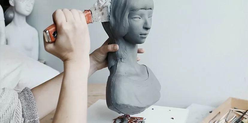 美女艺术家的雕塑,直抵天真、美丽和纯净的灵魂插图5