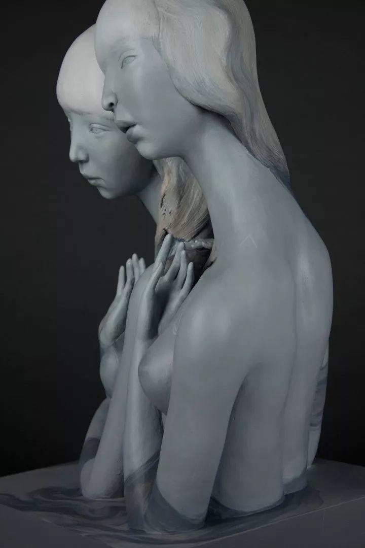 美女艺术家的雕塑,直抵天真、美丽和纯净的灵魂插图9