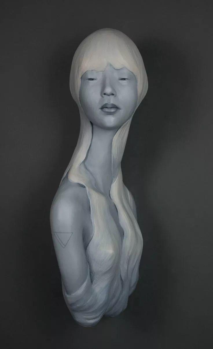 美女艺术家的雕塑,直抵天真、美丽和纯净的灵魂插图35