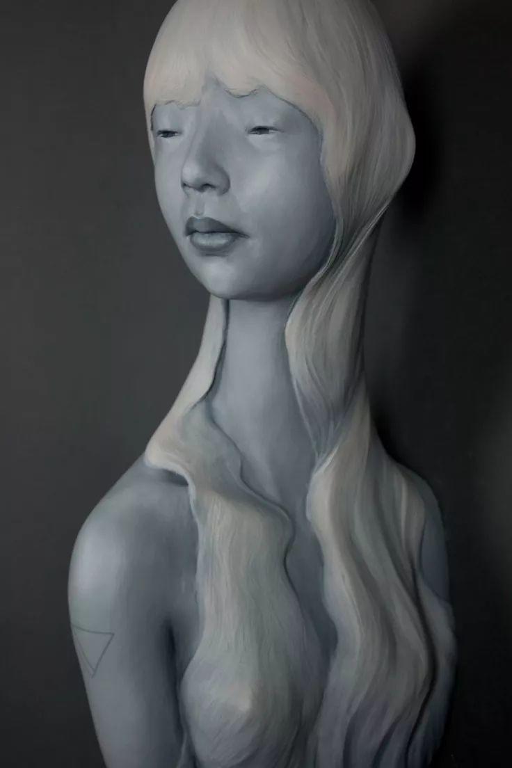 美女艺术家的雕塑,直抵天真、美丽和纯净的灵魂插图37