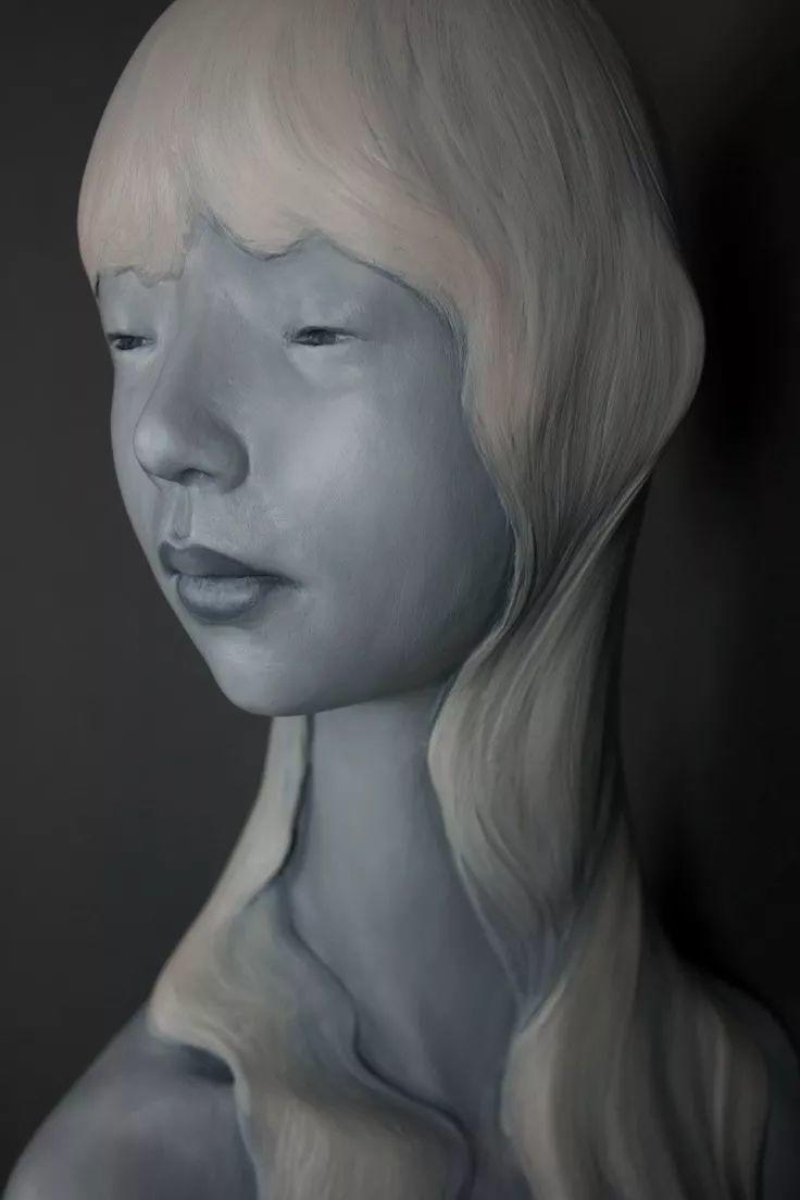 美女艺术家的雕塑,直抵天真、美丽和纯净的灵魂插图39