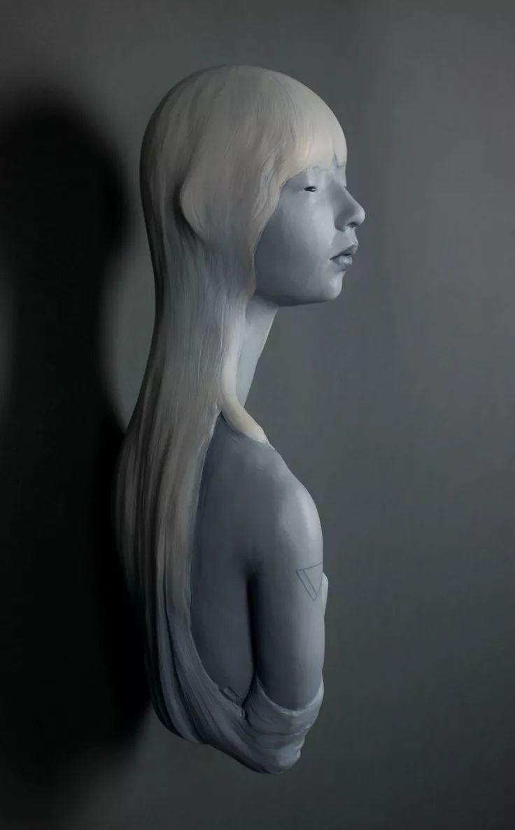 美女艺术家的雕塑,直抵天真、美丽和纯净的灵魂插图41