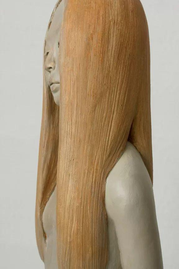 美女艺术家的雕塑,直抵天真、美丽和纯净的灵魂插图51