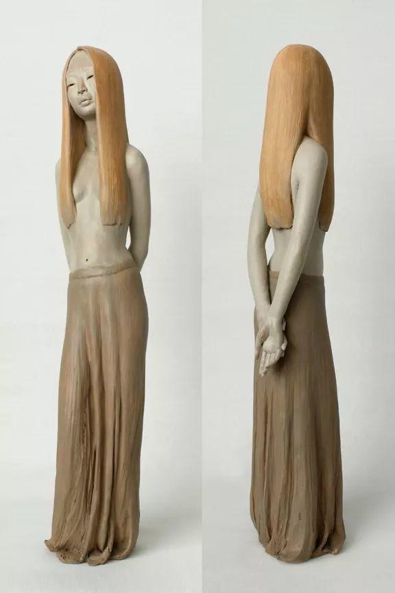 美女艺术家的雕塑,直抵天真、美丽和纯净的灵魂插图55