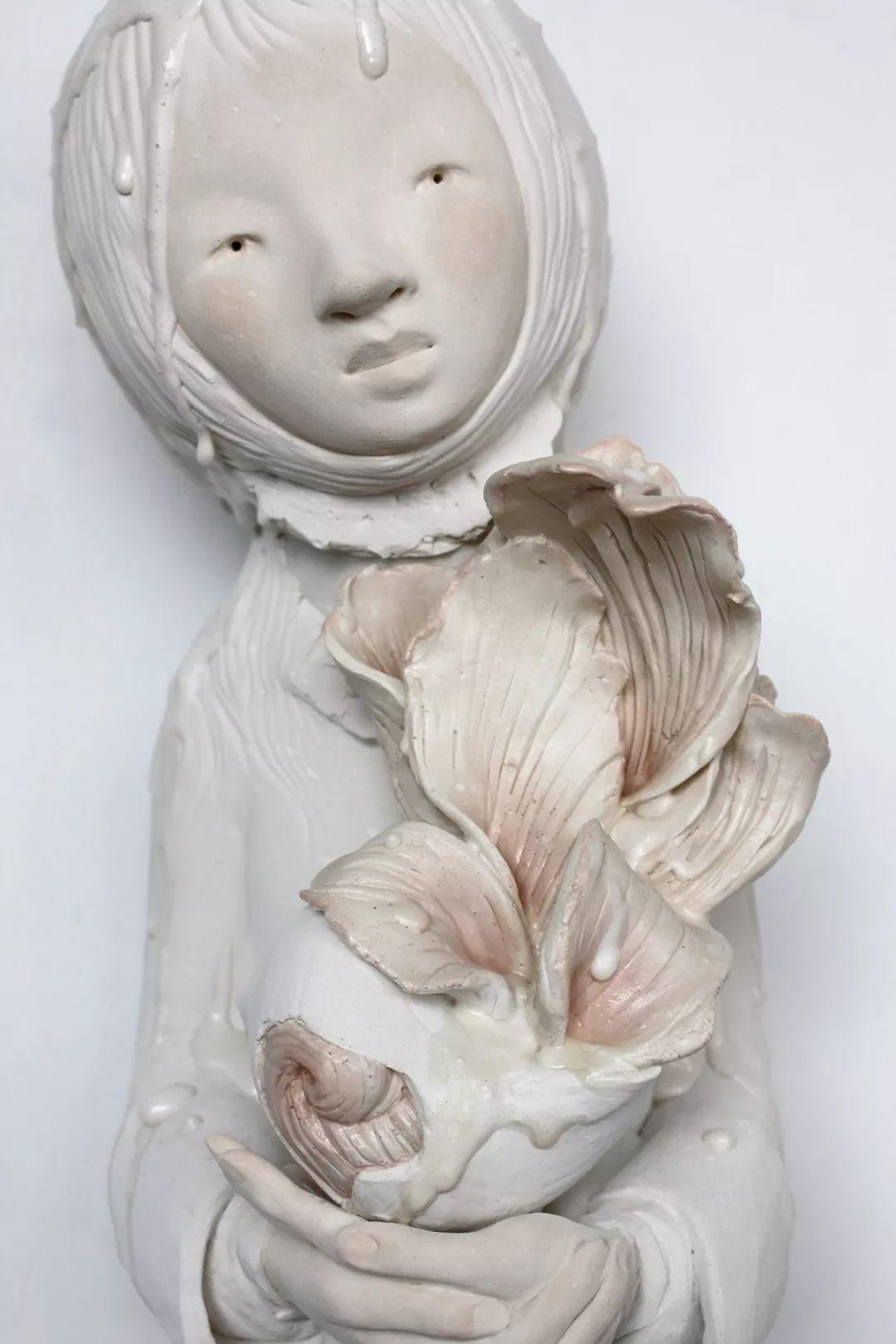 美女艺术家的雕塑,直抵天真、美丽和纯净的灵魂插图61