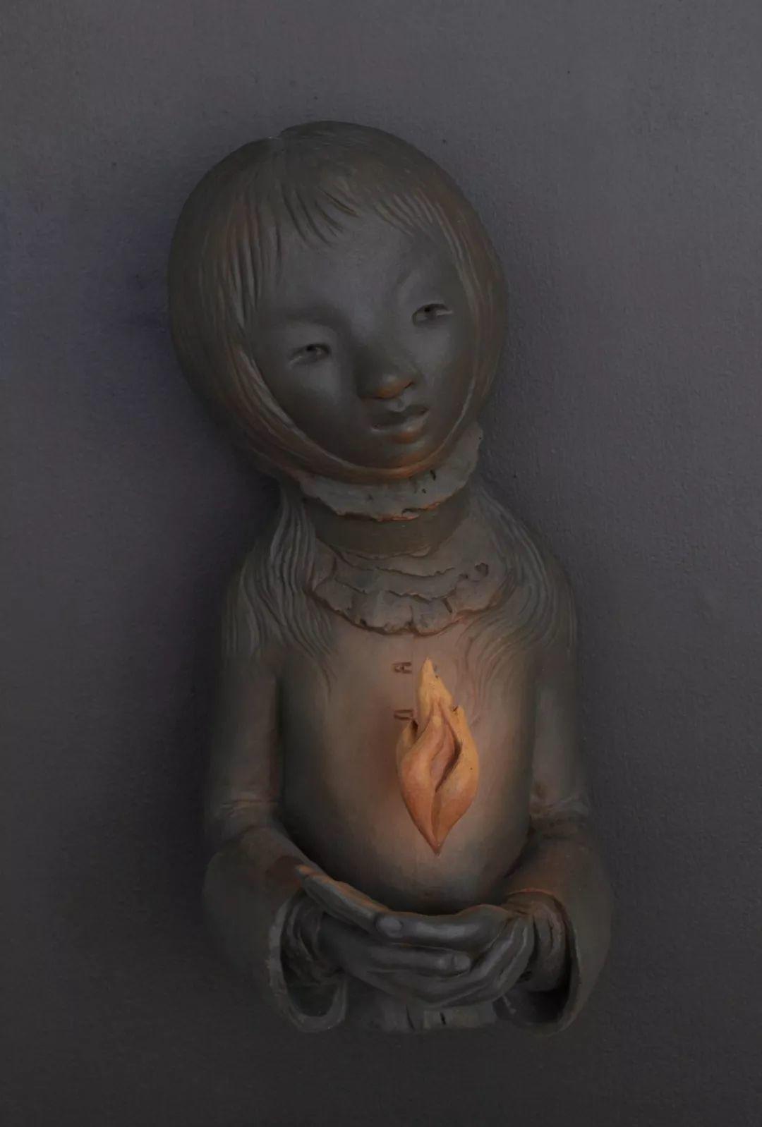 美女艺术家的雕塑,直抵天真、美丽和纯净的灵魂插图65