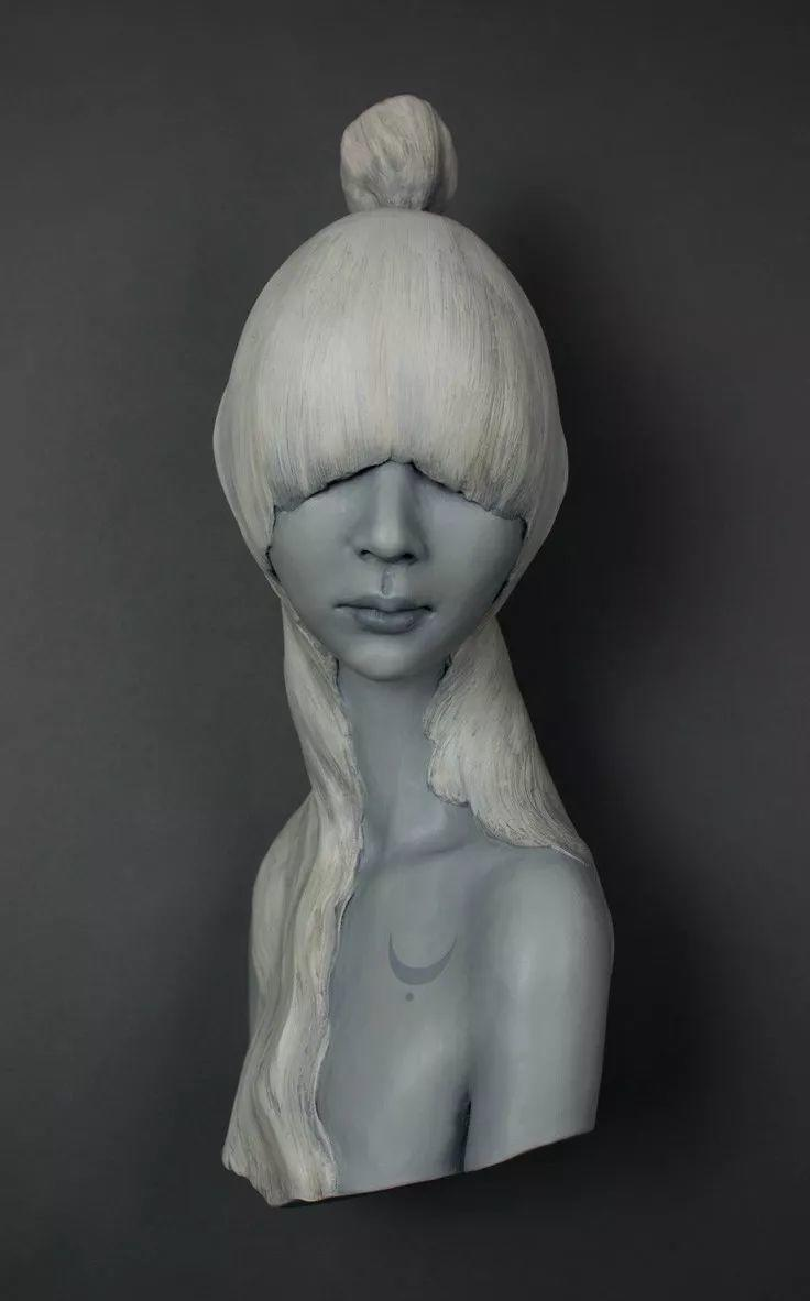 美女艺术家的雕塑,直抵天真、美丽和纯净的灵魂插图71