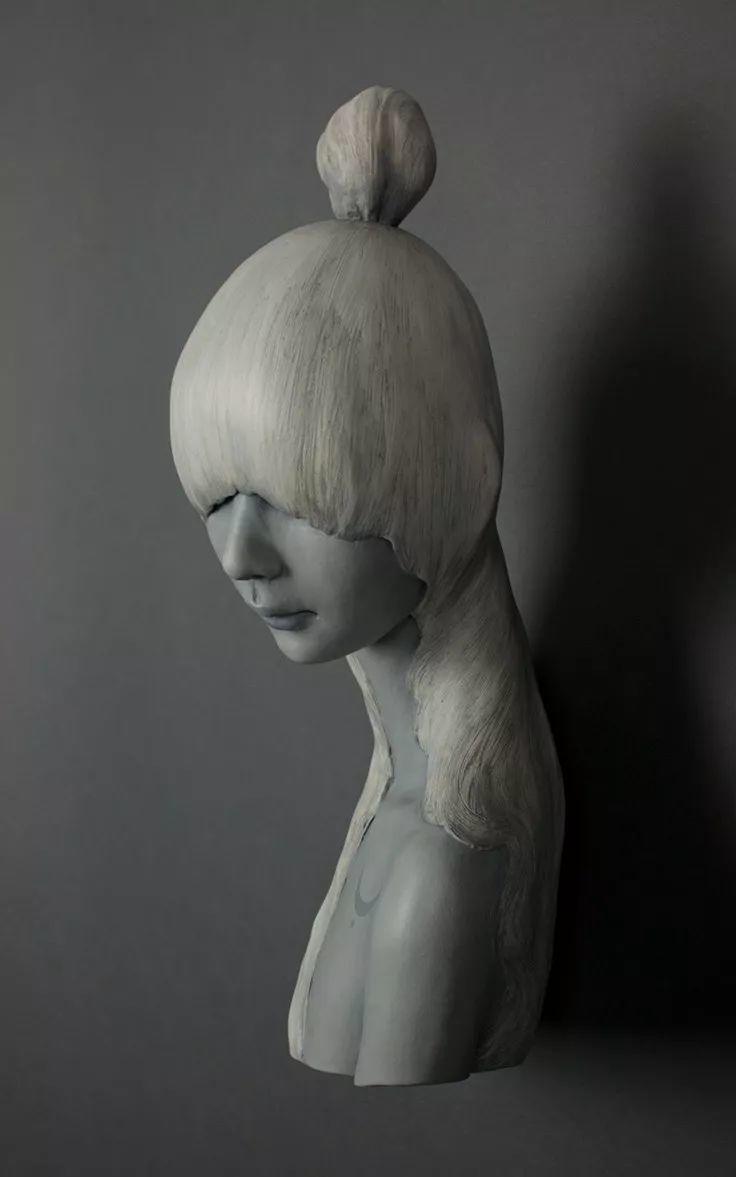美女艺术家的雕塑,直抵天真、美丽和纯净的灵魂插图73