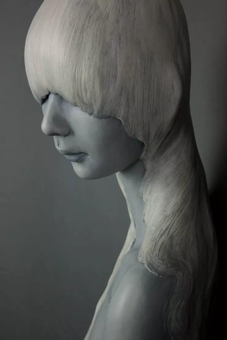 美女艺术家的雕塑,直抵天真、美丽和纯净的灵魂插图75