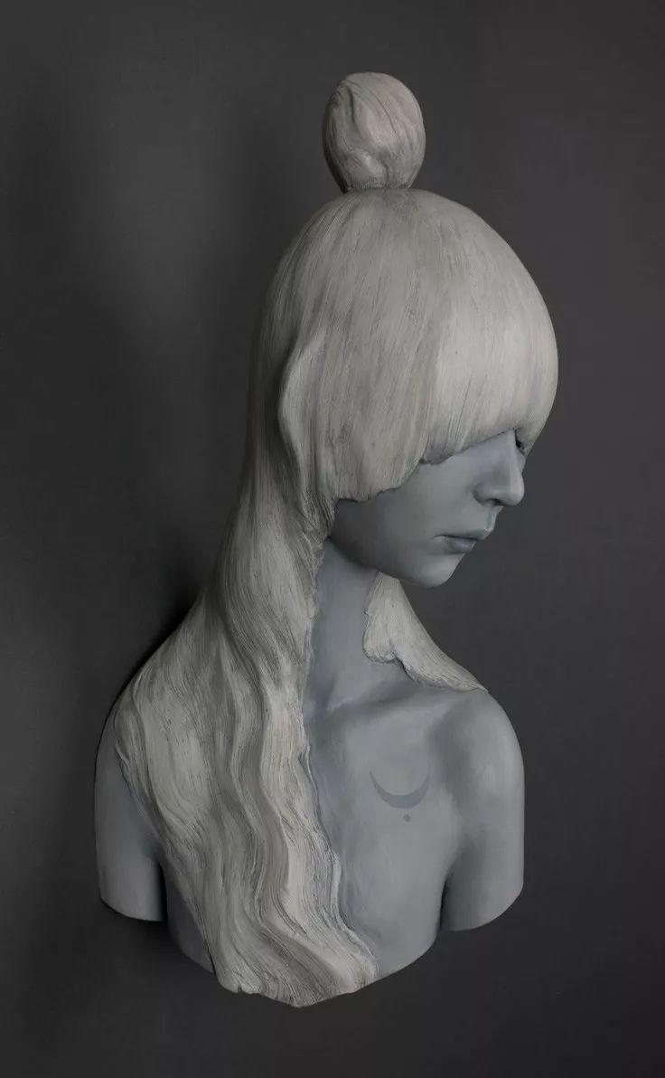 美女艺术家的雕塑,直抵天真、美丽和纯净的灵魂插图77