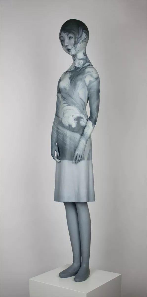 美女艺术家的雕塑,直抵天真、美丽和纯净的灵魂插图79