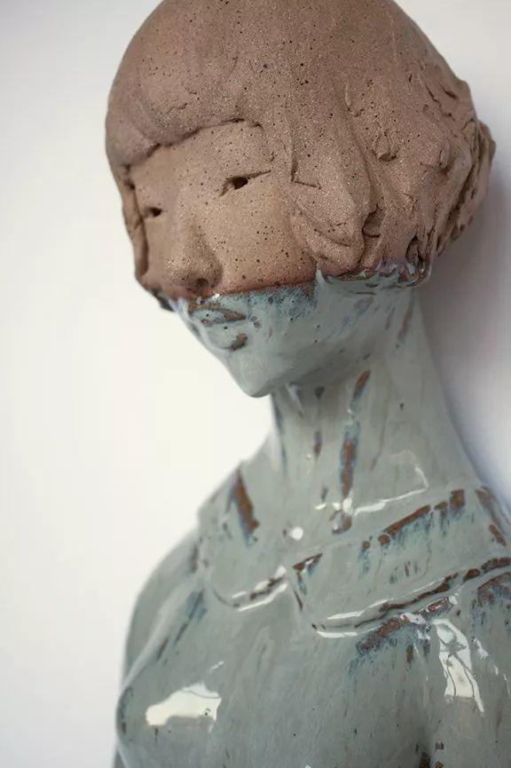美女艺术家的雕塑,直抵天真、美丽和纯净的灵魂插图91