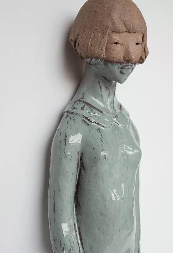 美女艺术家的雕塑,直抵天真、美丽和纯净的灵魂插图93