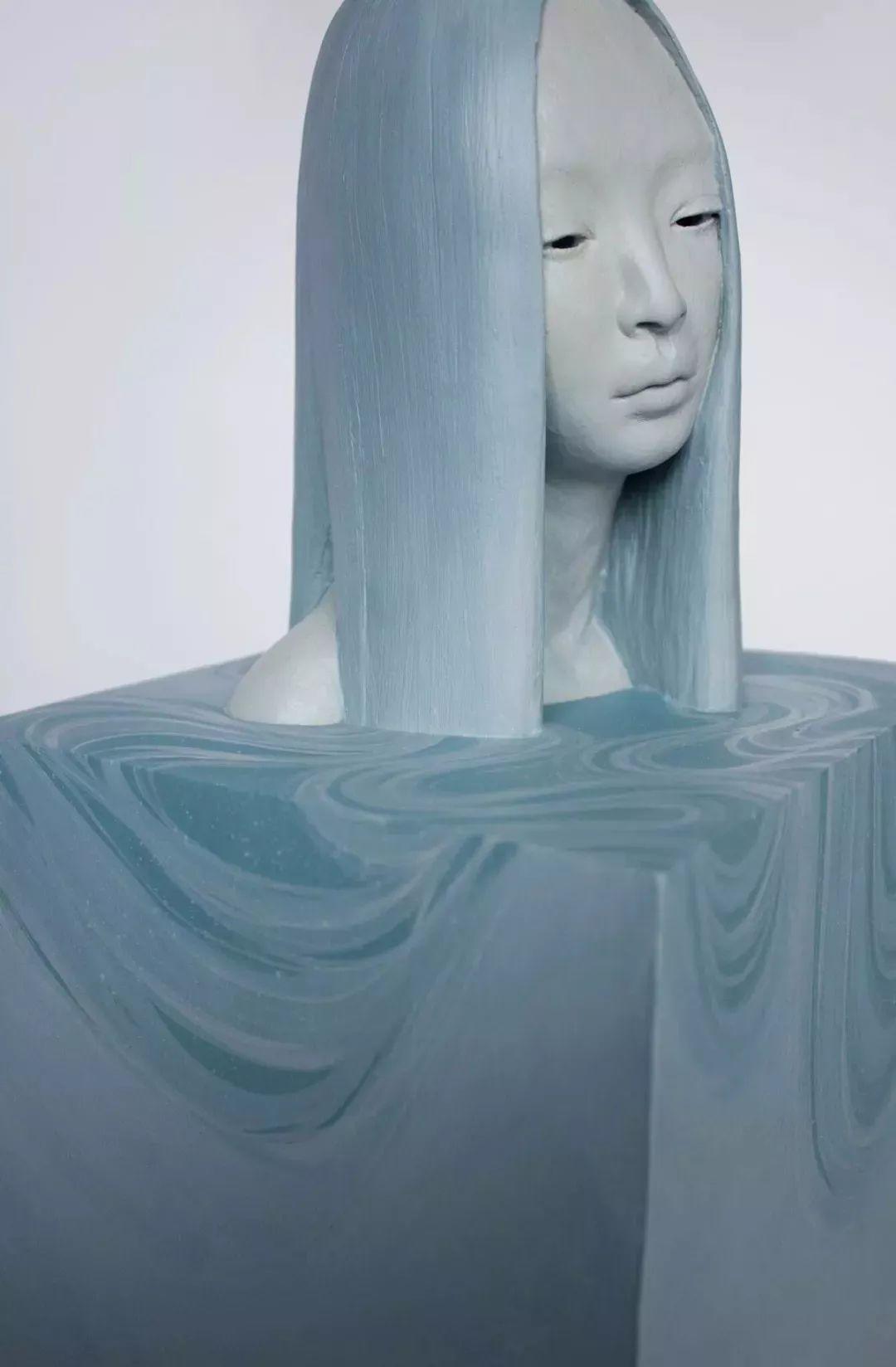 美女艺术家的雕塑,直抵天真、美丽和纯净的灵魂插图105