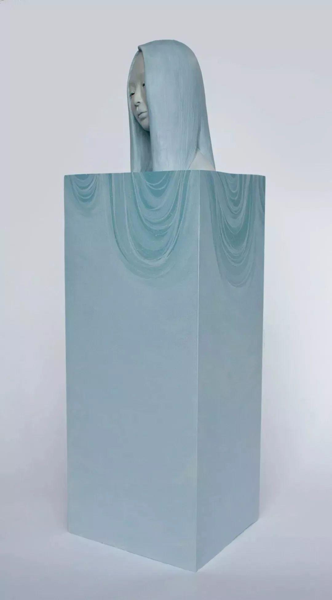 美女艺术家的雕塑,直抵天真、美丽和纯净的灵魂插图107