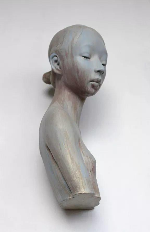 美女艺术家的雕塑,直抵天真、美丽和纯净的灵魂插图117