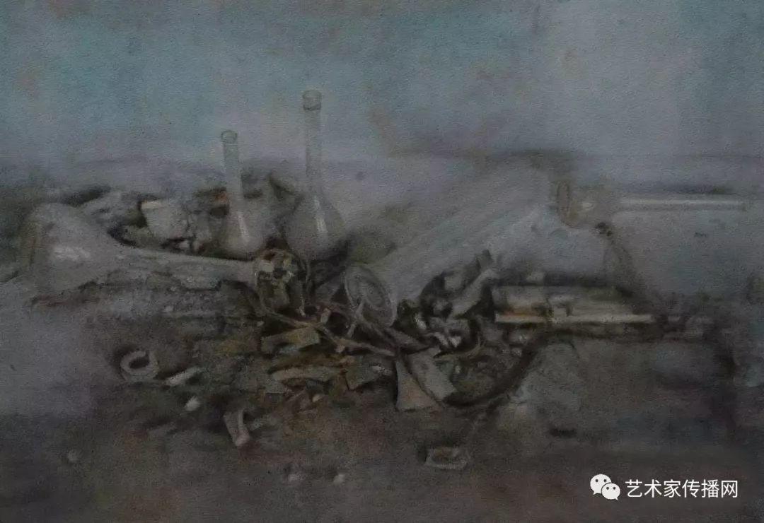 他只画老油灯空瓶子和女人体,却惊艳了整个画坛!插图13