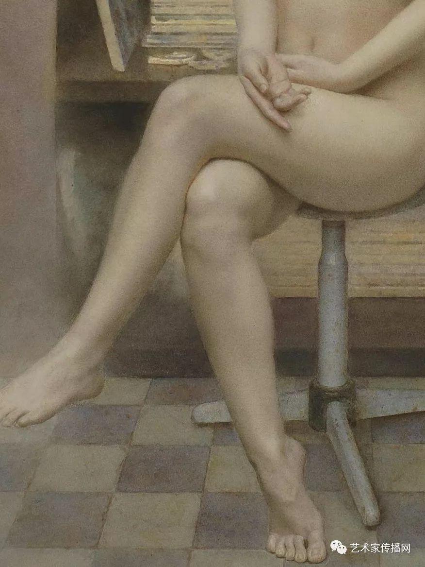 他只画老油灯空瓶子和女人体,却惊艳了整个画坛!插图51