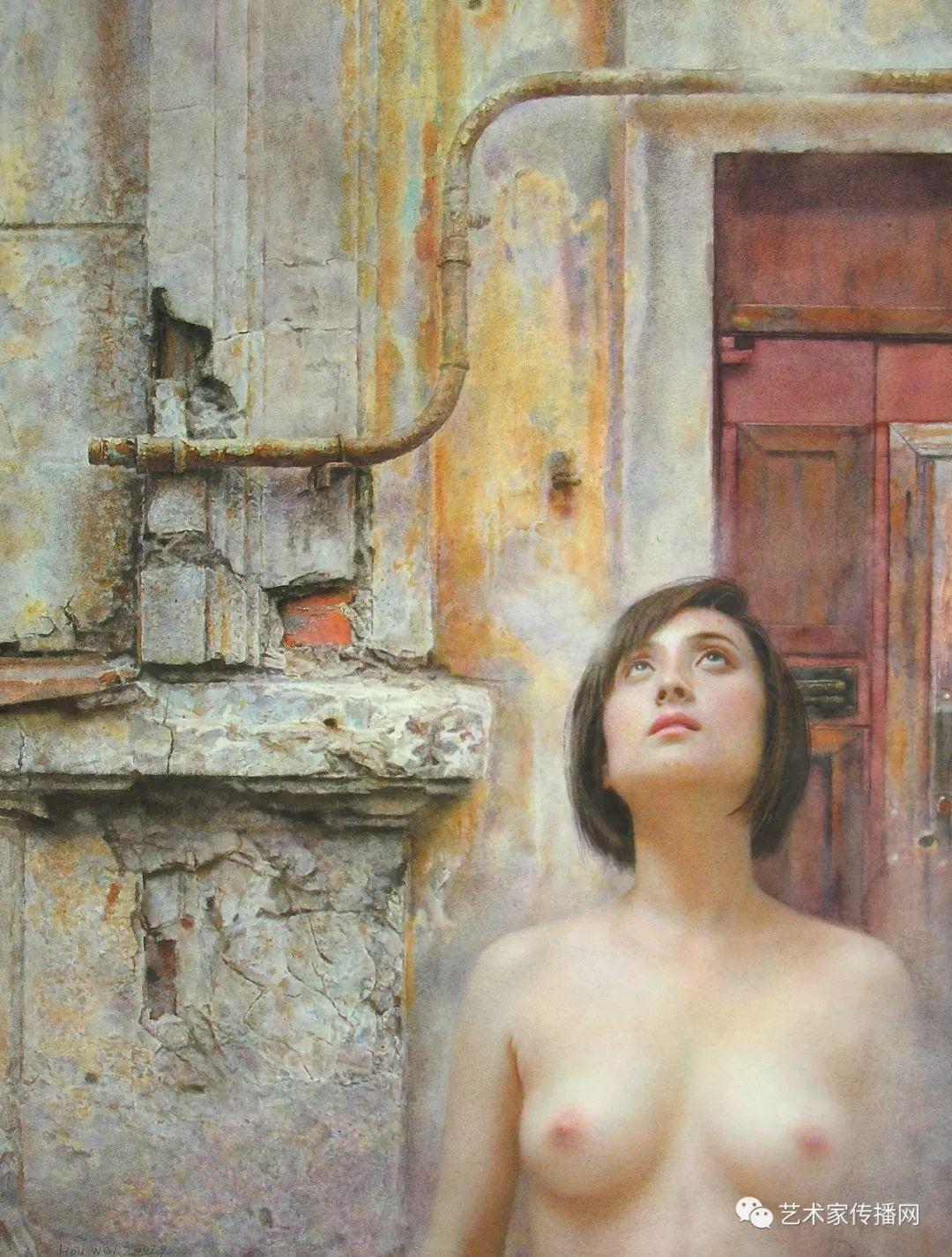 他只画老油灯空瓶子和女人体,却惊艳了整个画坛!插图53