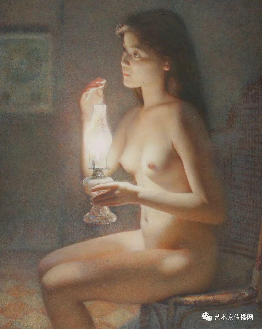 他只画老油灯空瓶子和女人体,却惊艳了整个画坛!插图65