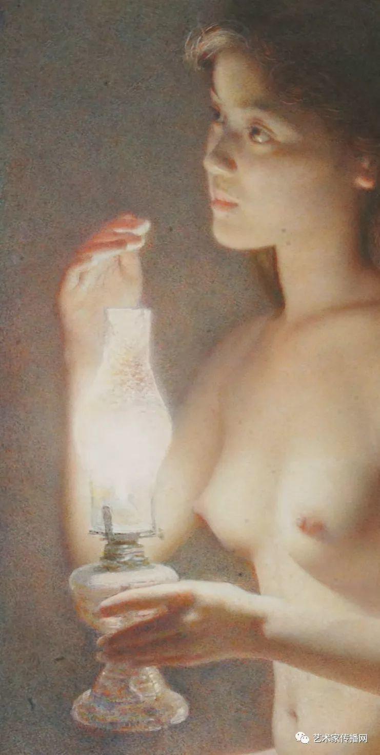他只画老油灯空瓶子和女人体,却惊艳了整个画坛!插图67