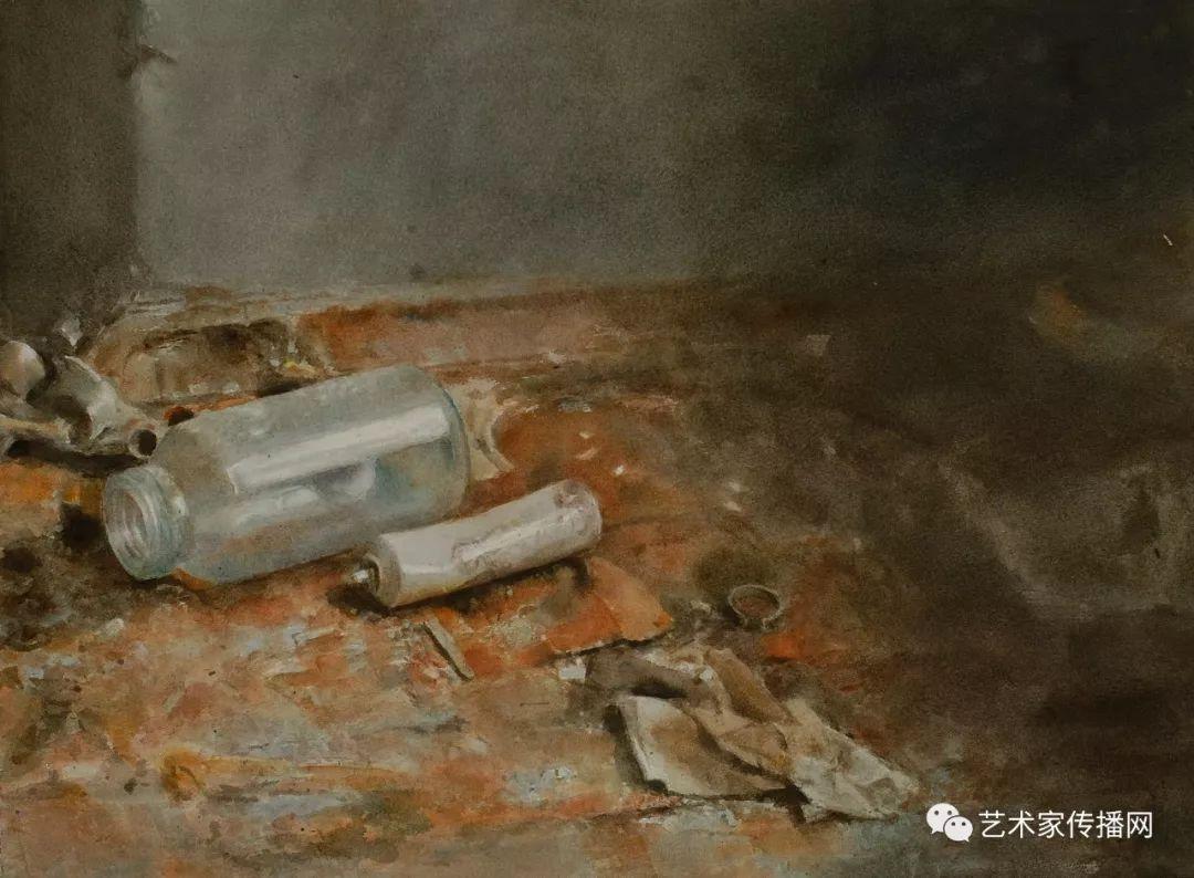 他只画老油灯空瓶子和女人体,却惊艳了整个画坛!插图99