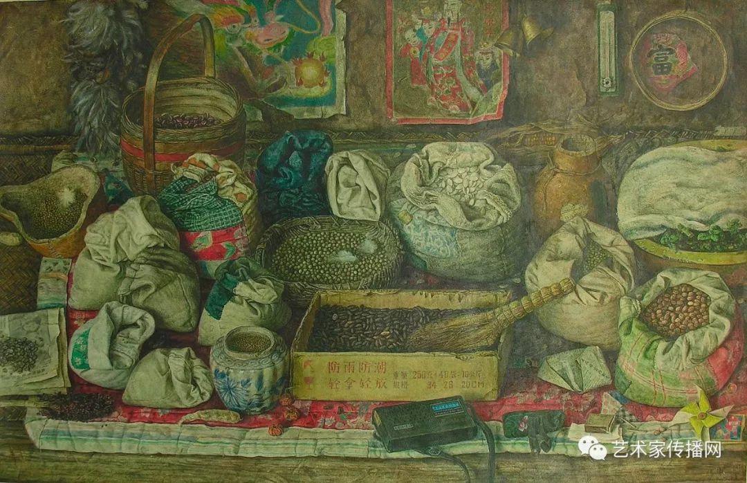 他只画老油灯空瓶子和女人体,却惊艳了整个画坛!插图149