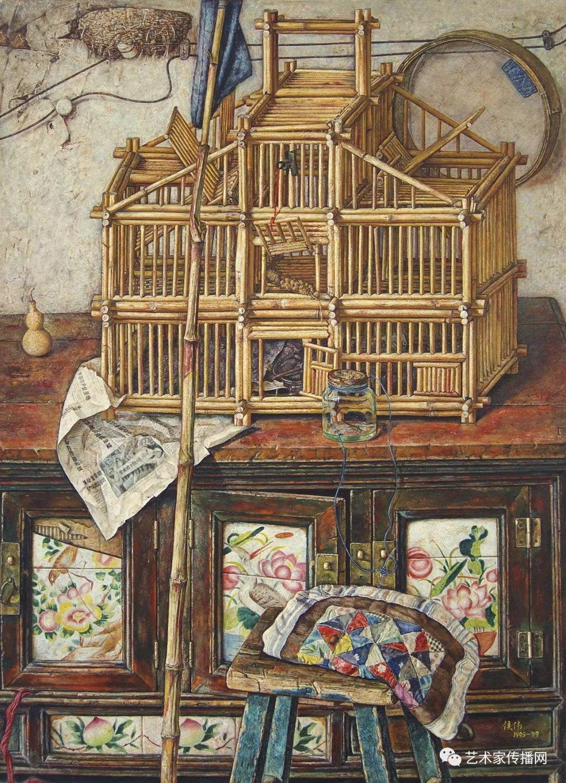 他只画老油灯空瓶子和女人体,却惊艳了整个画坛!插图175