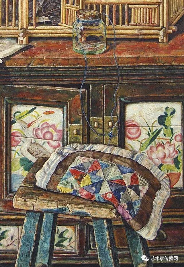 他只画老油灯空瓶子和女人体,却惊艳了整个画坛!插图179