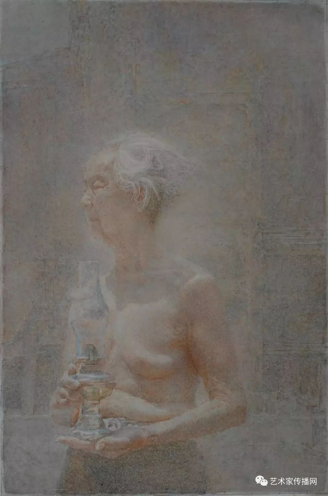 他只画老油灯空瓶子和女人体,却惊艳了整个画坛!插图187