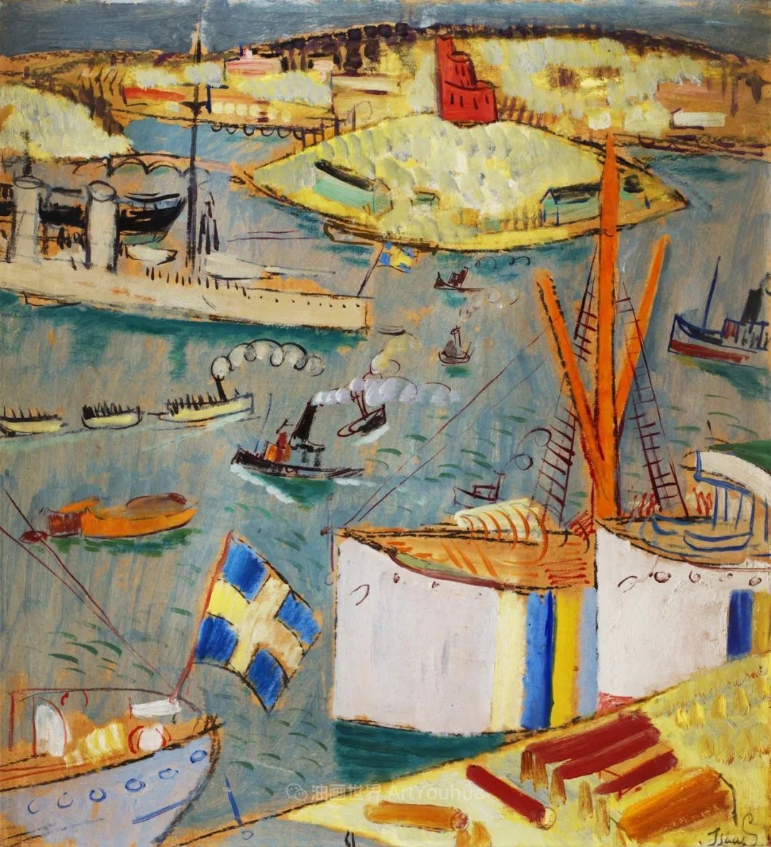第一代瑞典现代主义的领军人物   艾萨克作品欣赏插图111
