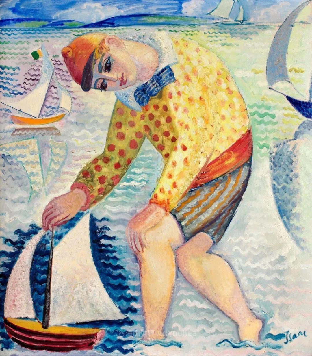 第一代瑞典现代主义的领军人物   艾萨克作品欣赏插图127