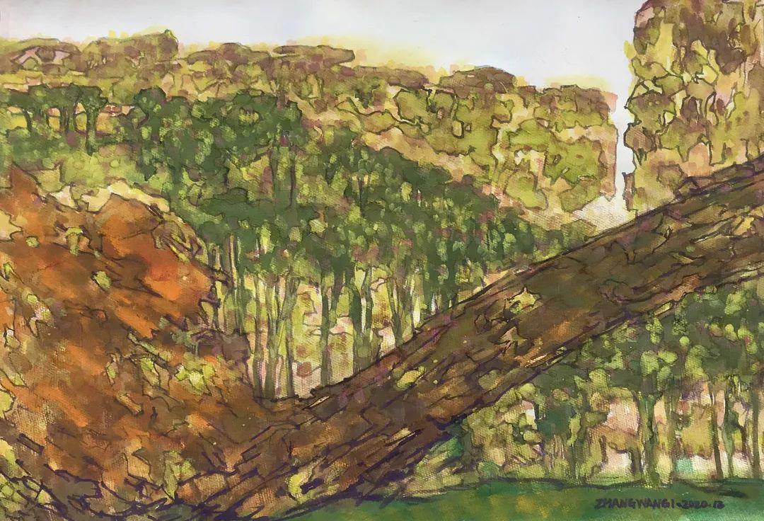 中国当代绘画艺术展作品欣赏之 张万琪插图7