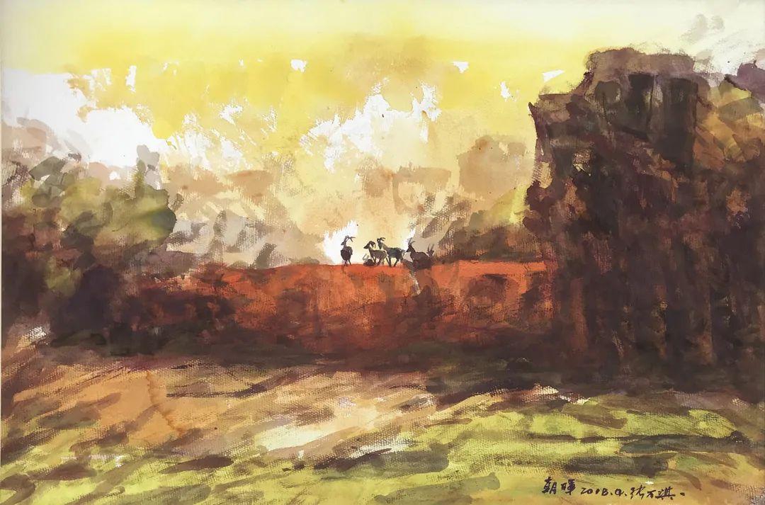 中国当代绘画艺术展作品欣赏之 张万琪插图9
