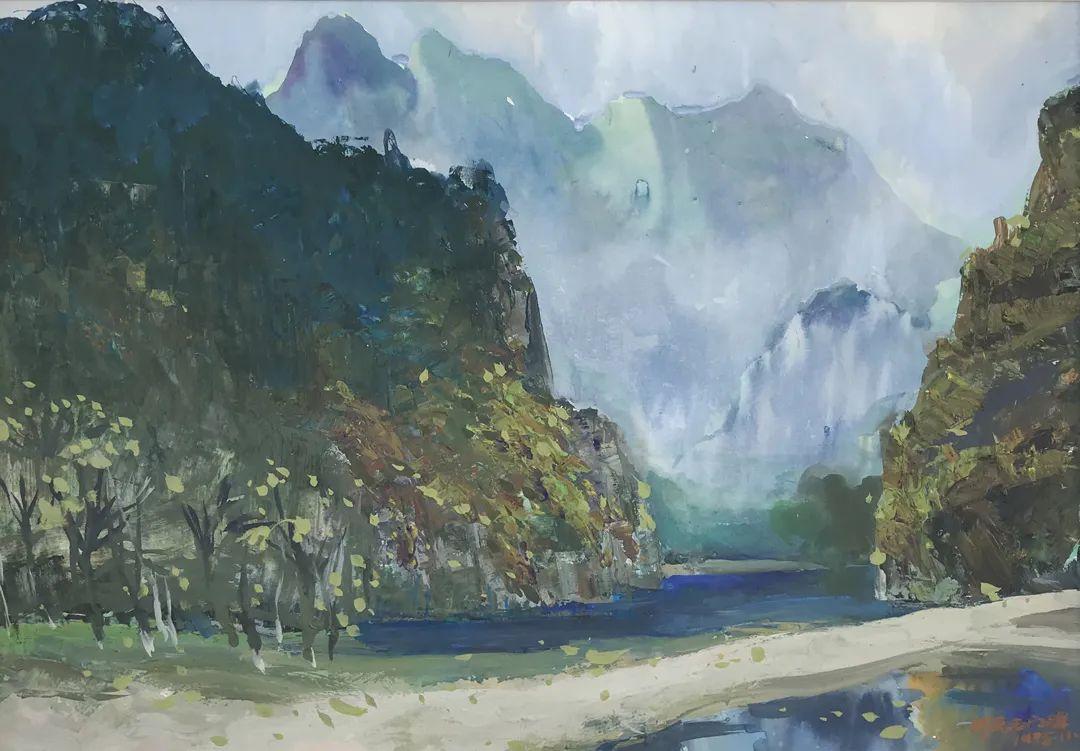 中国当代绘画艺术展作品欣赏之 张万琪插图23