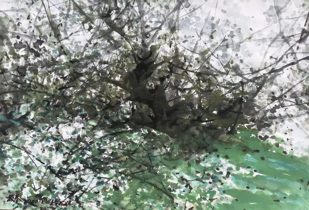 中国当代绘画艺术展作品欣赏之 张万琪插图29