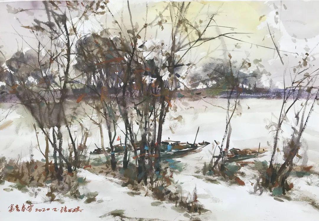 中国当代绘画艺术展作品欣赏之 张万琪插图39