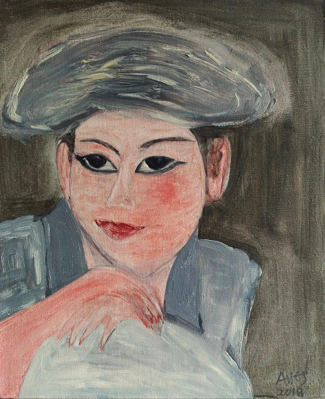 中国当代绘画艺术展作品欣赏之 肖梦插图5