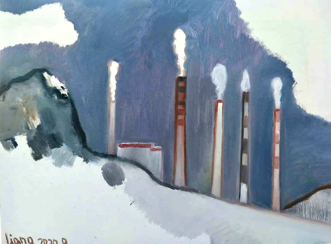 中国当代绘画艺术展作品欣赏之 梁智龙插图1